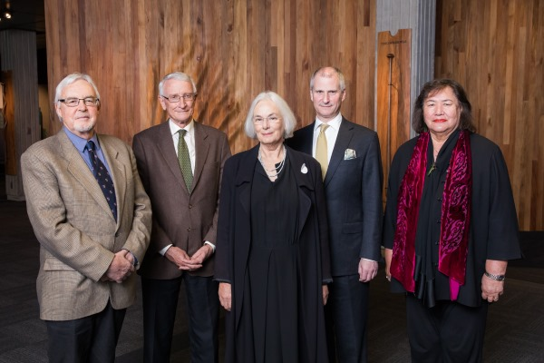 Judith Binney Trust trustees at the launch of the Fellowships in 2018.